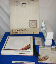 new SUNWAVE SY-136 ELECTROMAGNETIC Japanese COOKER electric BOXED COMPLETE