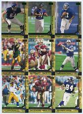 2000 Fleer Skybox 250 Card Football Set. Brian Urlacher & Jamal Lewis Rookies