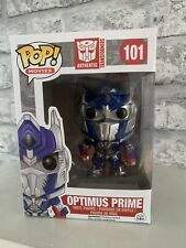 Funko Pop! Vinyl Transformers - Optimus Prime (Metallic) #101 -VAULTED