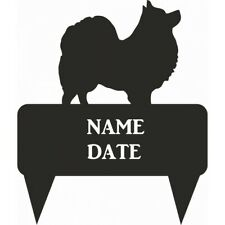 German Spitz Rectangular Memorial Plaque