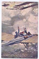 LA GUERRA AEREA - cartolina di propaganda 1a Guerra mondiale - MOLTO  RARA