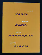 Madel , Micha Klein, Marroquin, Garcia # HANDS OFF, # Museum Fodor, 1991, mint