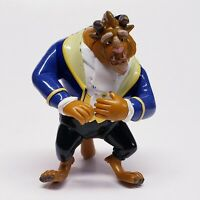 "Vintage Disney Beauty And The Beast Toy Sad Face Defensive Pose 5"" ADJUSTABLE *"