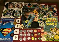 Huge Junk Drawer Lot Collectibles, Sports Cards, Superman, Misc #10/23/3P