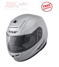FLY Street PARADIGM Helmet SILVER MEDIUM Motorcycle Yamaha Honda Kawasaki