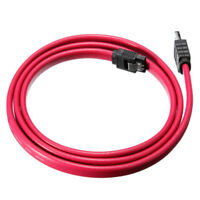 1M 3Ft eSATA to SATA External Shielded Serial Cable Lead Converter Adapter G8R6
