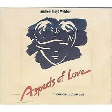ANDREW LLOYD WEBBER Aspects of Love 2 CD SET FATBOX UK IMPORT EXCELLENT