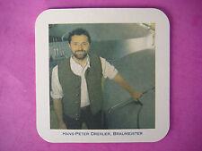 Beer Coaster: Schneider Weisse Braumeister Hans-Peter Drexler ~ Kelheim, Germany