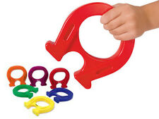 Learning Resources - 1x Childrens Classroom Jumbo Horseshoe Shaped Mighty Magnet