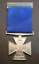 SCOUTS OF BELIZE Scout Leader / Commissioner SILVER CROSS FOR GALLANTRY MEDAL