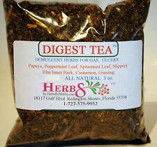 Herbs by Merlin DIGEST TEA ( Indigestion,  Bloating, Ulcers ) Organic Tea 3 oz
