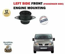 FOR NISSAN PRIMASTAR + VAN 2002--> NEW LEFT FRONT PASSENGER SIDE ENGINE MOUNTING