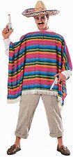 Mexican Serape/Spanish Man Costume - Standard/Large ( Jacket Size 38-44 ) 15750