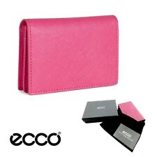 Ecco Haya Card Holder Mini Wallet Magenta 16Q4 Cow Leather