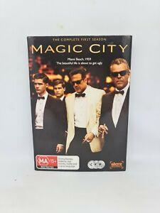 MAGIC CITY Season One DVD Region 4 TV Show Very Good Condition