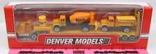 Menards ~ Denver Models ~ Construction tractor and trailer w/ 2 vehicle