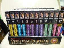 Anthony Robbins Personal Power II, The Driving Force 12 Box set