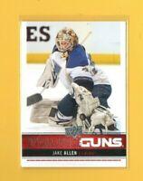 2537 2012-13 Upper Deck #244 Jake Allen YG YOUNG GUNS ROOKIE CARD $25