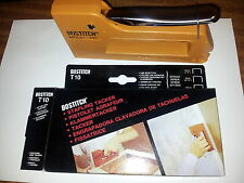 Stanley Bostitch T10 Hand Tacker / Stapler. Fires SP6, SP8 and SP10 staples