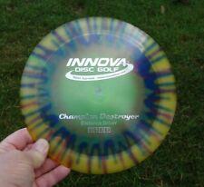 Innova Champion Destroyer-factory tye dye-beautiful disc 168 grams-disc golf