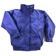 Columbia Whirlibird Down Insulated Womens Large Blue Full Zip 2 in 1 Ski Jacket