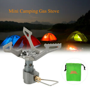 25g Titanium Alloy Outdoor Cooking Burner Folding Gas Stove BRS-3000T 2700W Y5Y2