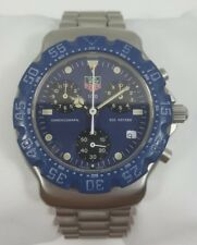 TAG Heuer Formula 1 Chronograph Blue Dial Stainless Steel Men's Watch 570.513