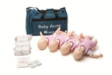 Pack 4 Baby Anne infant  manikin from Laerdal for CPR and choking practice - NEW