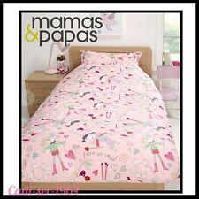 Mamas & Papas Fairy Princess Single Duvet Cover & Pillow Case Girls Bedding NEW