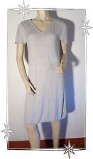 A - Magnifique Robe Fantaisie en Maille Beige Pascal Morabito Taille M