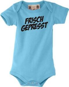 Baby Body kultiger Spruch frisch gepresst