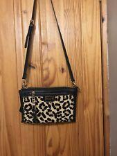 Dune Clutch Bag with Leopard print satchel Cross Body Bag