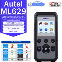 Autel MaxiLink ML629 OBD2 Auto Diagnostic Tool CAN Code Reader Scan Better AL619