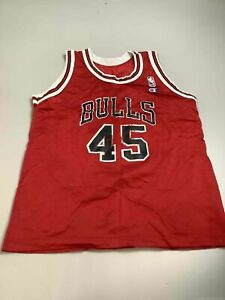 Children's Vintage Champion Chicago Bulls #45 Jordan Jersey Size ??, Made in USA