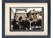 Metallica. St Anger. High quality framed print and clock. Music memorabilia.