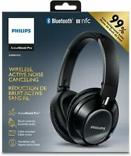 Philips SHB9850NC/27 Wireless Noise Canceling Headphones, Black