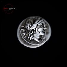 More details for roman republic. m. herennius silver denarius