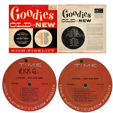 GOODIES OLD AND NEW lp Time Records Skip & Flip Knockouts Bell Notes Isabell etc