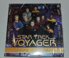 Star Trek: Voyager 2000 Wall Calendar Sealed and New