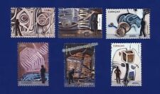 Briefmarken aus der Karibik mit Kunst-Motiv