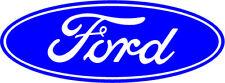 2 x Ford Style Oval logo badge car vinyl sticker decal fiesta mondeo focus st