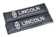 New 2PCS LINCOLN Car Seat Belt Cover Pads Shoulder Cushion For NAVIGATOR MKZ MKT