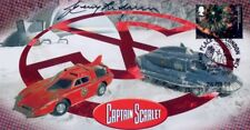 More details for captain scarlet crafts collectable stamp cover signed by gerry anderson