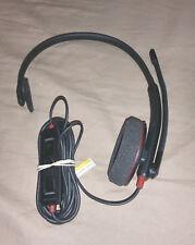 PLANTRONICS BLACKWIRE C310-M usb headset with mono speaker and mic