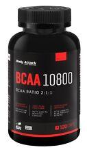 (10,30 Euro/100g) Body Attack BCAA 10800 Kapseln 120 Caps + Probe