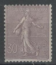 """FRANCE  STAMP TIMBRE N° 133 """" SEMEUSE LIGNEE 30c LILAS 1903 """" NEUF xx TB  P137"""