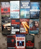 Lot Of 11 Mystery Suspense Crime Thriller Fiction Paperback Books Random Mix