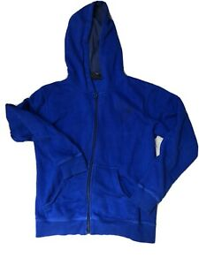 Quicksilver Blue Hoodie Boys/girls Age 14 - Great Condition
