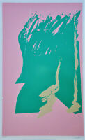 MICHAEL STEINER Pencil Signed ABSTRACT EXPRESSIONIST 4-Color SERIGRAPH LTD VENUS