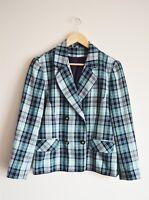 True Vintage 80s green and black Hamwells jacket  - Size 10-12